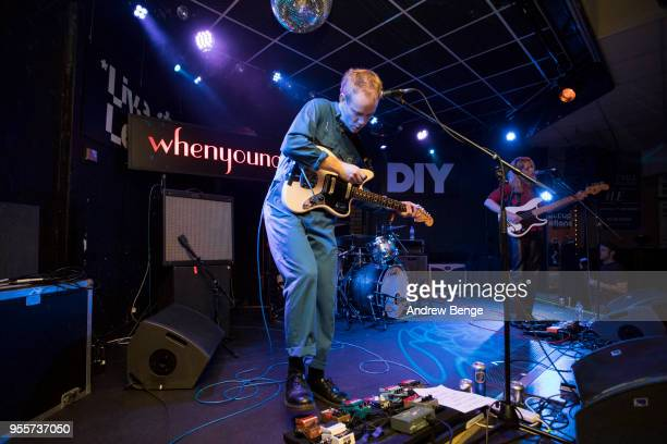 Niall Burns of Whenyoung performs at Brudenell Social Club during Live At Leeds on May 5 2018 in Leeds England