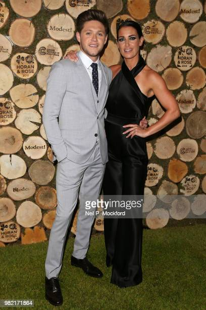 Niall Horan and Kirsty Gallacher attend the Horan And Rose Charity Event held at The Grove on June 23 2018 in Watford England