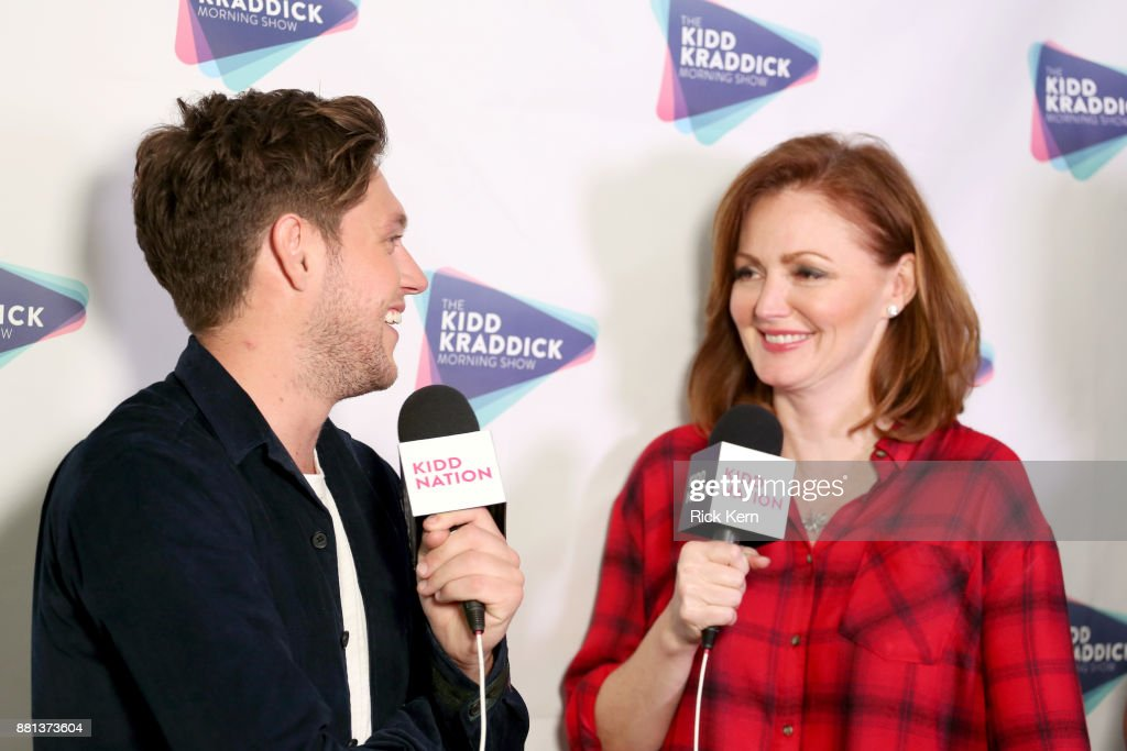 Niall Horan and radio personality Kellie Rasberry of The