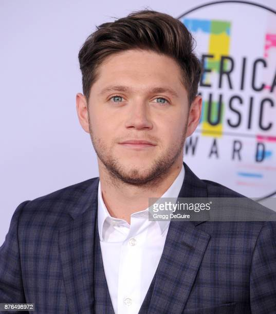 Niall Horan arrives at the 2017 American Music Awards at Microsoft Theater on November 19 2017 in Los Angeles California
