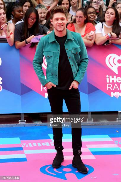 Niall Horan arrives at the 2017 iHeartRADIO MuchMusic Video Awards at MuchMusic HQ on June 18 2017 in Toronto Canada