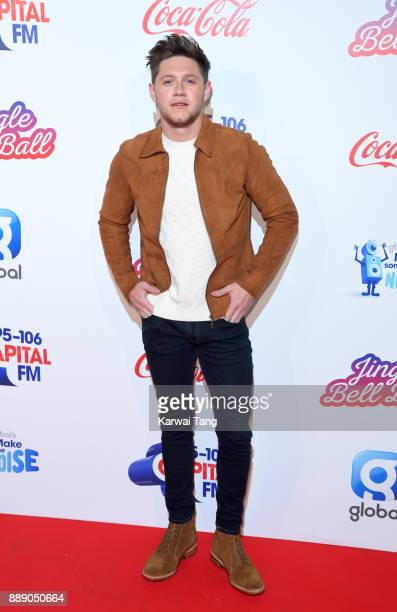 Niall Horan attends the Capital FM Jingle Bell Ball with CocaCola at The O2 Arena on December 9 2017 in London England