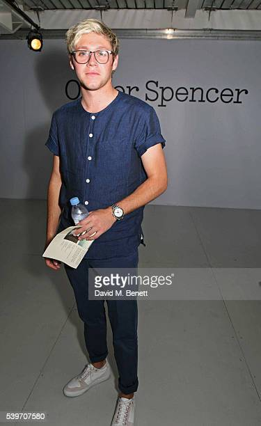 Niall Horan attends the Oliver Spencer show during The London Collections Men SS17 at the BFC Show Space on June 10 2016 in London England