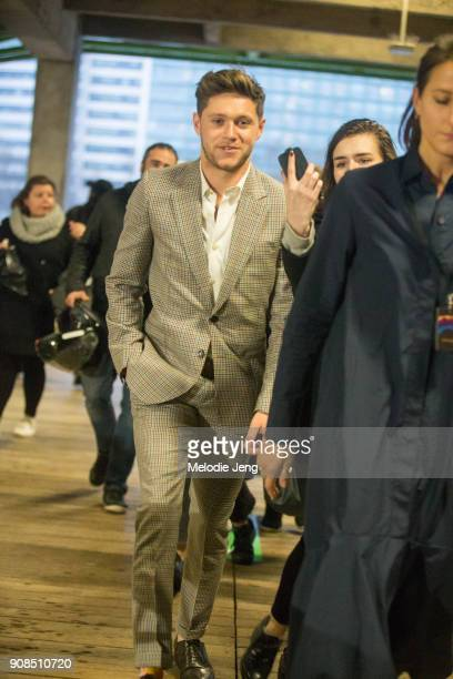 Niall Horan attends the Paul Smith show on January 21 2018 in Paris France