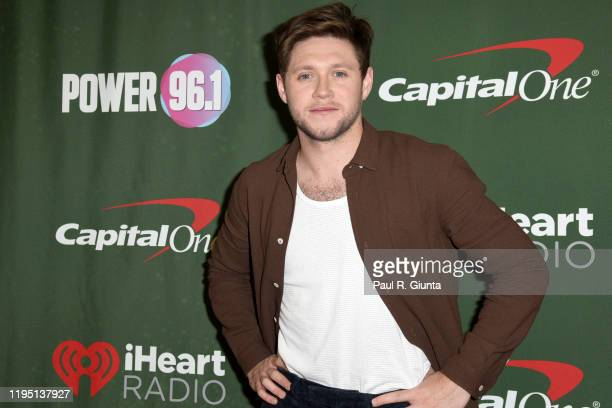 Niall Horan attends the Power 961's Jingle Ball 2019 Press Room on December 20 2019 in Atlanta Georgia