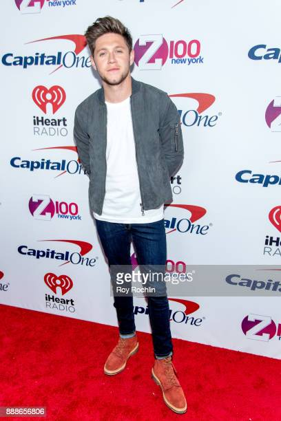 Niall Horan attends Z100's iHeartRadio Jingle Ball 2017 at Madison Square Garden on December 8 2017 in New York City
