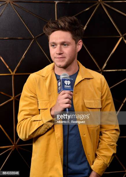 Niall Horan in the press room during 1027 KIIS FM's Jingle Ball 2017 presented by Capital One at The Forum on December 1 2017 in Inglewood California