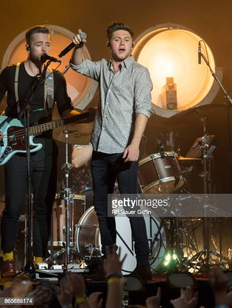 Niall Horan is seen at 'jimmy Kimmel Live' on October 23 2017 in Los Angeles California