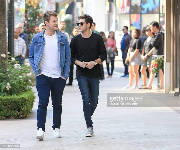 Niall Horan is seen on December 05 2016 in Los Angeles California