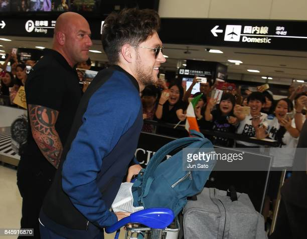 Niall Horan is seen upon arrival at Narita International Airport on September 12 2017 in Narita Japan