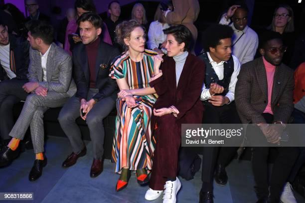 Niall Horan Johannes Huebl Maxine Peake Vicky McClure Sheku Kinneh Mason and Tinie Tempah wearing Paul Smith attend the Paul Smith AW18 Men's and...