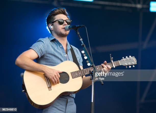 Niall Horan performs at BBC Music Biggest Weekend held at Singleton Park on May 27 2018 in Swansea Wales