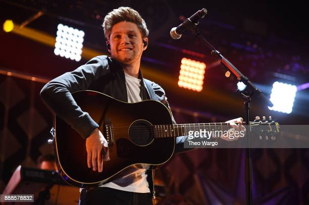 Niall Horan performs at the Z100's Jingle Ball 2017 on December 8 2017 in New York City