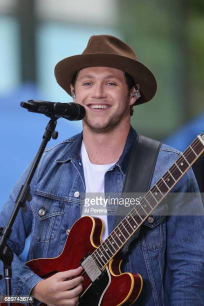 Niall Horan performs on NBC's Today Show at Rockefeller Plaza on May 29 2017 in New York City