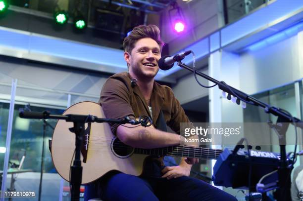 Niall Horan performs on SiriusXM Hits 1 at the SiriusXM Studios in New York City on October 08 2019 in New York City