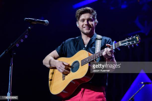 Niall Horan performs on stage during Y100 Miami Jingle Ball at BBT Center on December 22 2019 in Sunrise Florida