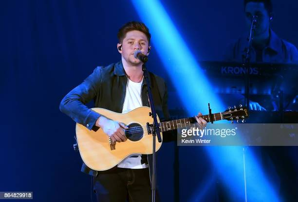 Niall Horan performs onstage at CBS RADIO's We Can Survive 2017 at The Hollywood Bowl on October 21 2017 in Los Angeles California