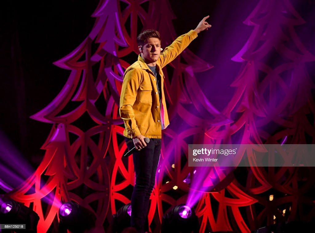 Niall Horan performs onstage during 102.7 KIIS FM's Jingle Ball 2017 presented by Capital One at The Forum on December 1, 2017 in Inglewood, California.