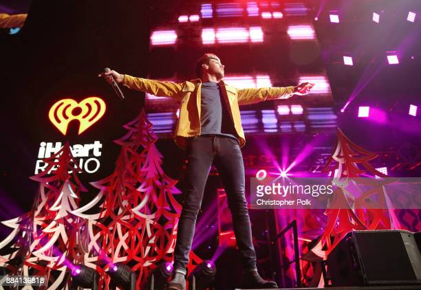 Niall Horan performs onstage during 1027 KIIS FM's Jingle Ball 2017 presented by Capital One at The Forum on December 1 2017 in Inglewood California
