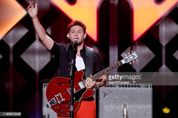 Niall Horan performs onstage during iHeartRadio's Z100 Jingle Ball 2019 at Madison Square Garden on December 13 2019 in New York City