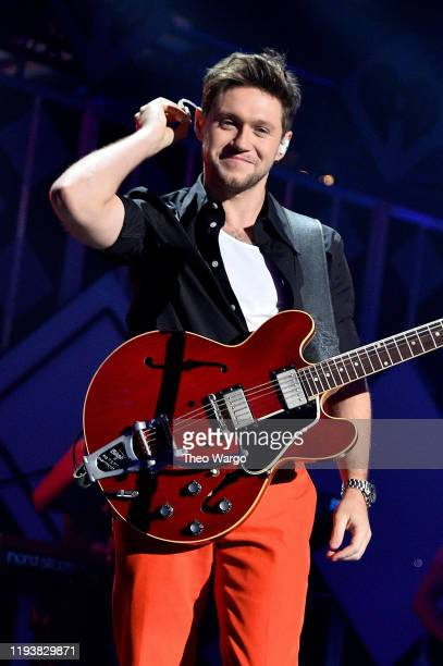 Niall Horan performs onstage during iHeartRadio's Z100 Jingle Ball 2019 Presented By Capital One on December 13 2019 in New York City