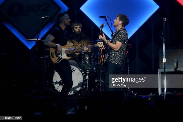 Niall Horan performs onstage during Q102's Jingle Ball 2019 Presented by Capital One at Wells Fargo Center on December 11 2019 in Philadelphia...