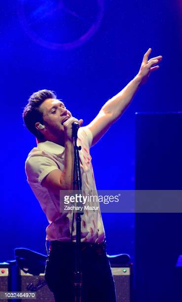 Niall Horan performs onstage during the Flicker World Tour at Northwell Health at Jones Beach Theater on September 12 2018 in Wantagh New York