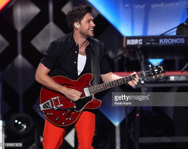 Niall Horan performs onstage during the iHeartRadio's Z100 Jingle Ball 2019 at Madison Square Garden on December 13, 2019 in New York City.