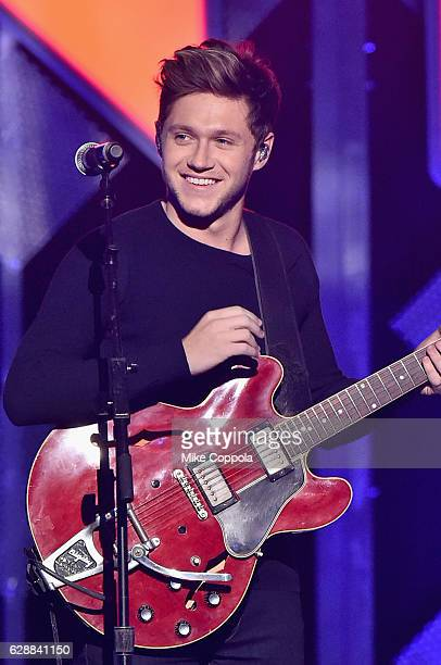 Niall Horan performs onstage during Z100's Jingle Ball 2016 at Madison Square Garden on December 9 2016 in New York New York