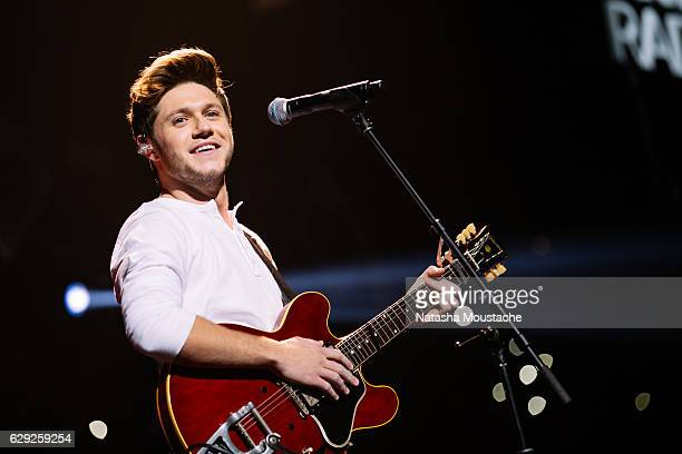 Niall Horan perfors onstage at TD Banknorth Garden on December 11 2016 in Boston Massachusetts