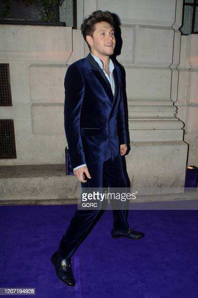 Niall Horan seen attending the BRIT Awards 2020 Universal afterparty at the Ned hotel on February 18 2020 in London England