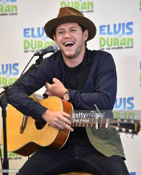 Niall Horan Visits The Elvis Duran Z100 Morning Show at Z100 Studio on May 30 2017 in New York City