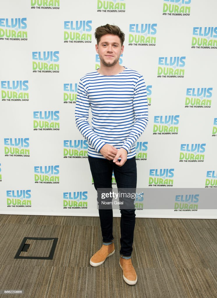 "Niall Horan Visits ""The Elvis Duran Z100 Morning Show"" : News Photo"