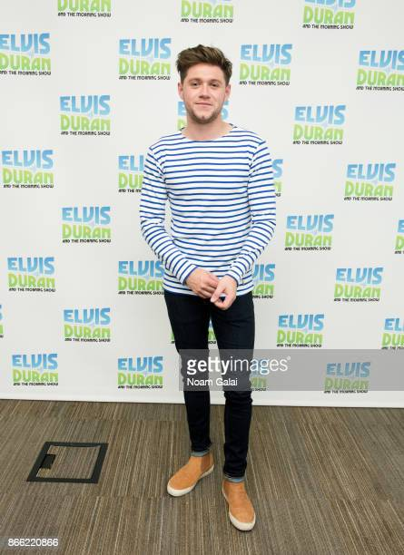 Niall Horan visits The Elvis Duran Z100 Morning Show at Z100 Studio on October 25 2017 in New York City