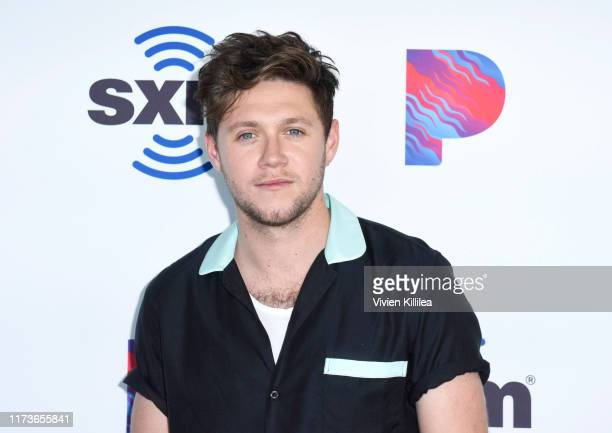 Niall Horan Visits The SiriusXM Hollywood Studios in Los Angeles on October 4 2019 in Los Angeles California