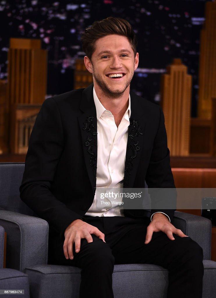 "Niall Horan Visits ""The Tonight Show Starring Jimmy Fallon"" : News Photo"