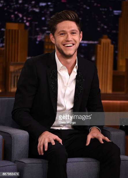 Niall Horan Visits The Tonight Show Starring Jimmy Fallon on December 7 2017 in New York City