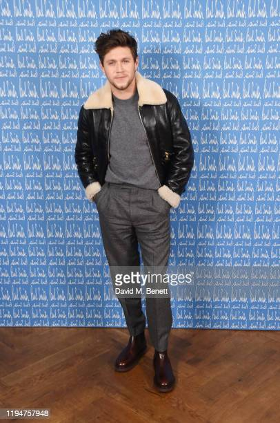 Niall Horan wearing Paul Smith attends the Paul Smith AW20 50th Anniversary show as part of Paris Fashion Week on January 19 2020 in Paris France