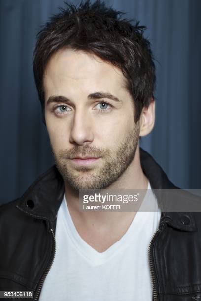 Niall Matter session portrait at 'Hotel du Louvre' on october 11 2012 in Paris France