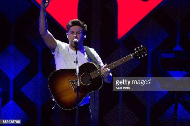 Niall Noran performs onstage during the Q102's iHeartRadio Jingle Ball 2017 at the Wells Fargo Center in Philadelphia PA on December 6 2017