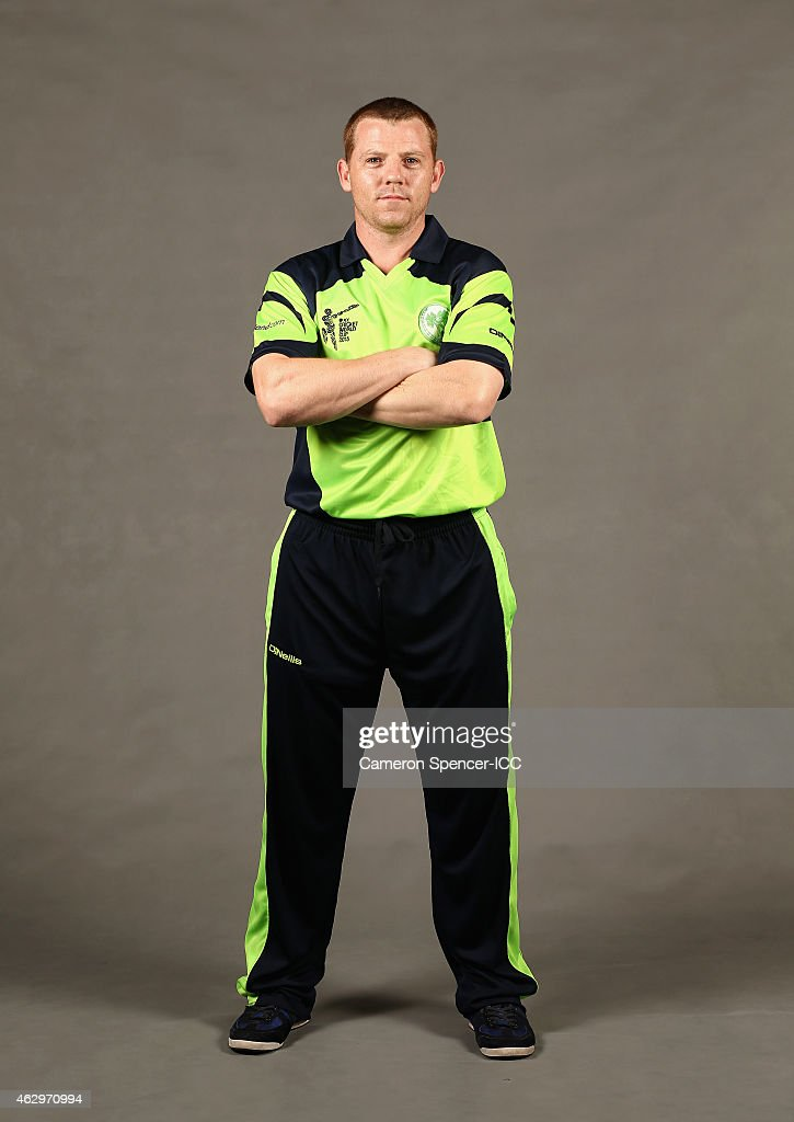 Ireland 2015 ICC Cricket World Cup Headshots Session
