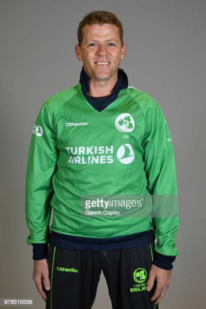 Niall O'Brien of Ireland poses for a portrait at The Brightside Ground on May 4 2017 in Bristol England