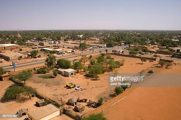 Niamey aerial view