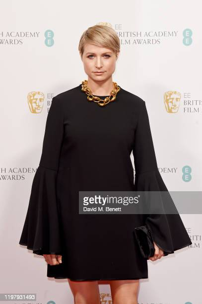 Niamh Algar arrives at the EE British Academy Film Awards 2020 Nominees' Party at Kensington Palace on February 1 2020 in London England