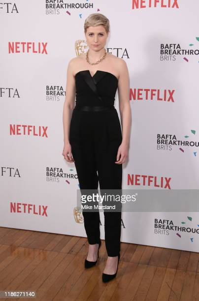 Niamh Algar attends the BAFTA Breakthrough Brits event 2019 at Banqueting House on November 07 2019 in London England