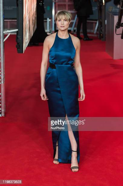 Niamh Algar attends the EE British Academy Film Awards ceremony at the Royal Albert Hall on 02 February 2020 in London England