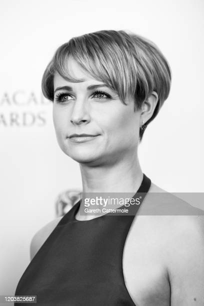 Niamh Algar poses in the Winners Room during the EE British Academy Film Awards 2020 at Royal Albert Hall on February 02 2020 in London England