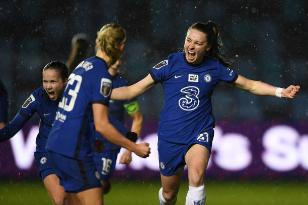 GBR: Manchester City v Chelsea - FA Women's Continental League Cup Quarter Final
