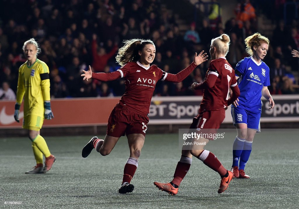 Liverpool Ladies v Birmingham City Ladies - WSL : News Photo