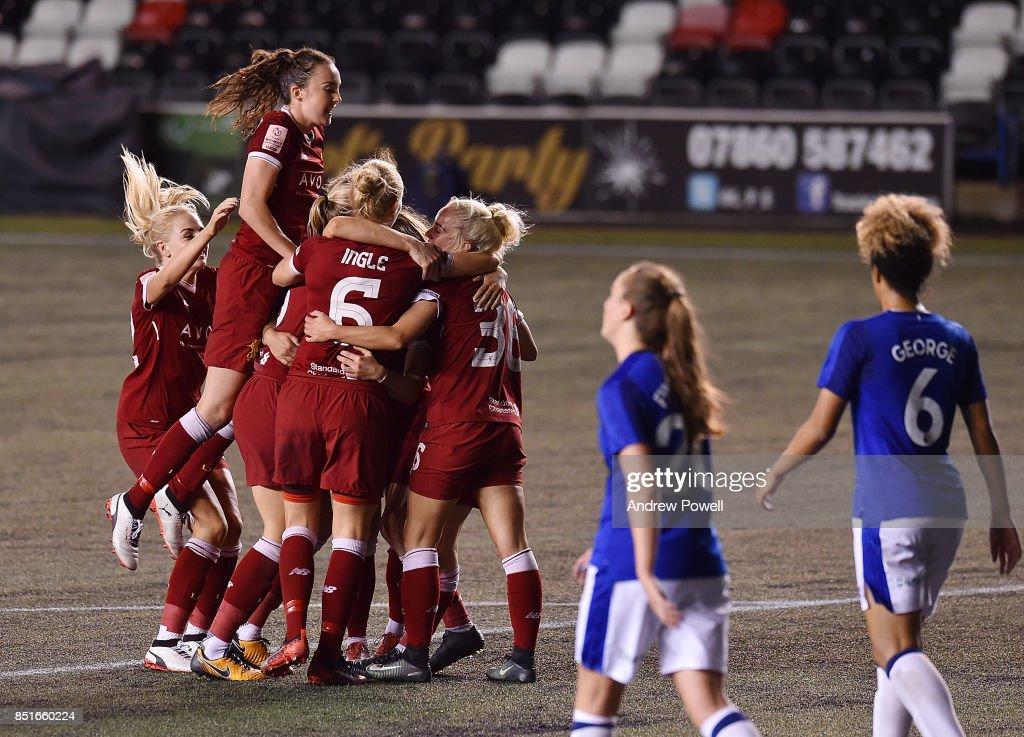 Everton Ladies v Liverpool Ladies - Women's Super League 1 : News Photo